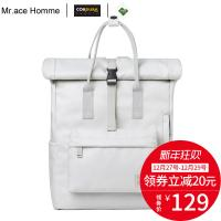 Mr ace Homme学生书包双肩包背包 Mr.Ace Homme